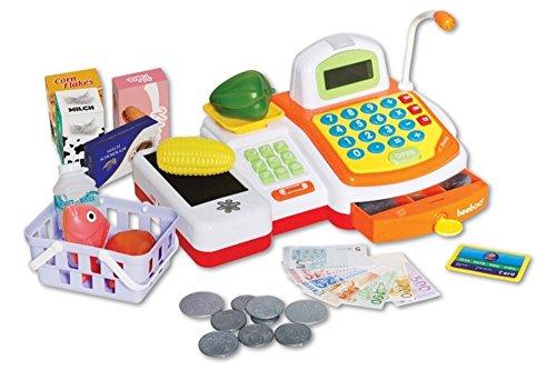 VEDES Großhandel GmbH - Ware HWA887431 45007774 Beeboo Kitchen Kasse mit Laufband und, bunt
