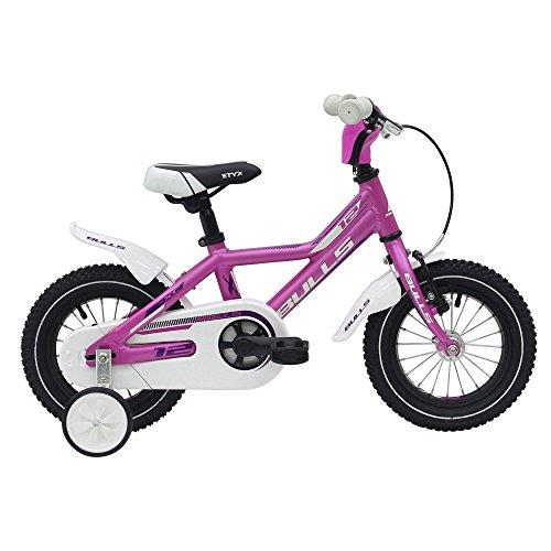Bulls Tokee Lite 12 Zoll Mädchen Kinderfahrrad Mountainbike 12' Kinderbike MTB, Rahmenhöhe:19 cm, Farbe:Pink