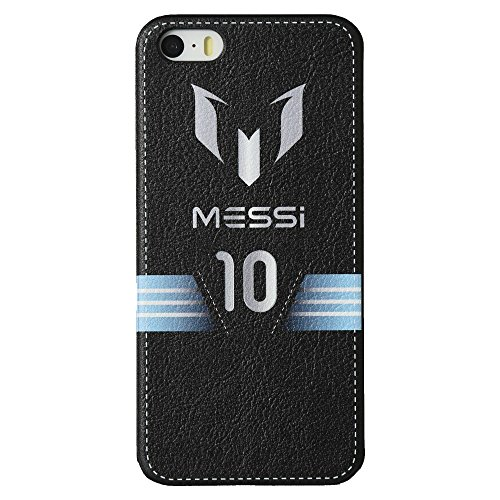 Messi Leather feel case para iPhone 5 / 5S