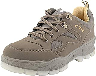 Coasters Trekking Shoes Anti-Skid Hiking Shoes Slip Resistant Mountain Boots in Action Trekking 11 UK