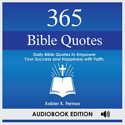 365 Bible Quotes audiobook cover art