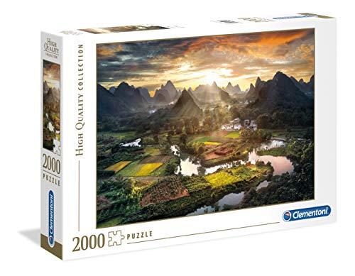 Clementoni Collection: View of China Puzzle, 2000 Piezas, Multicolor (32564.1)
