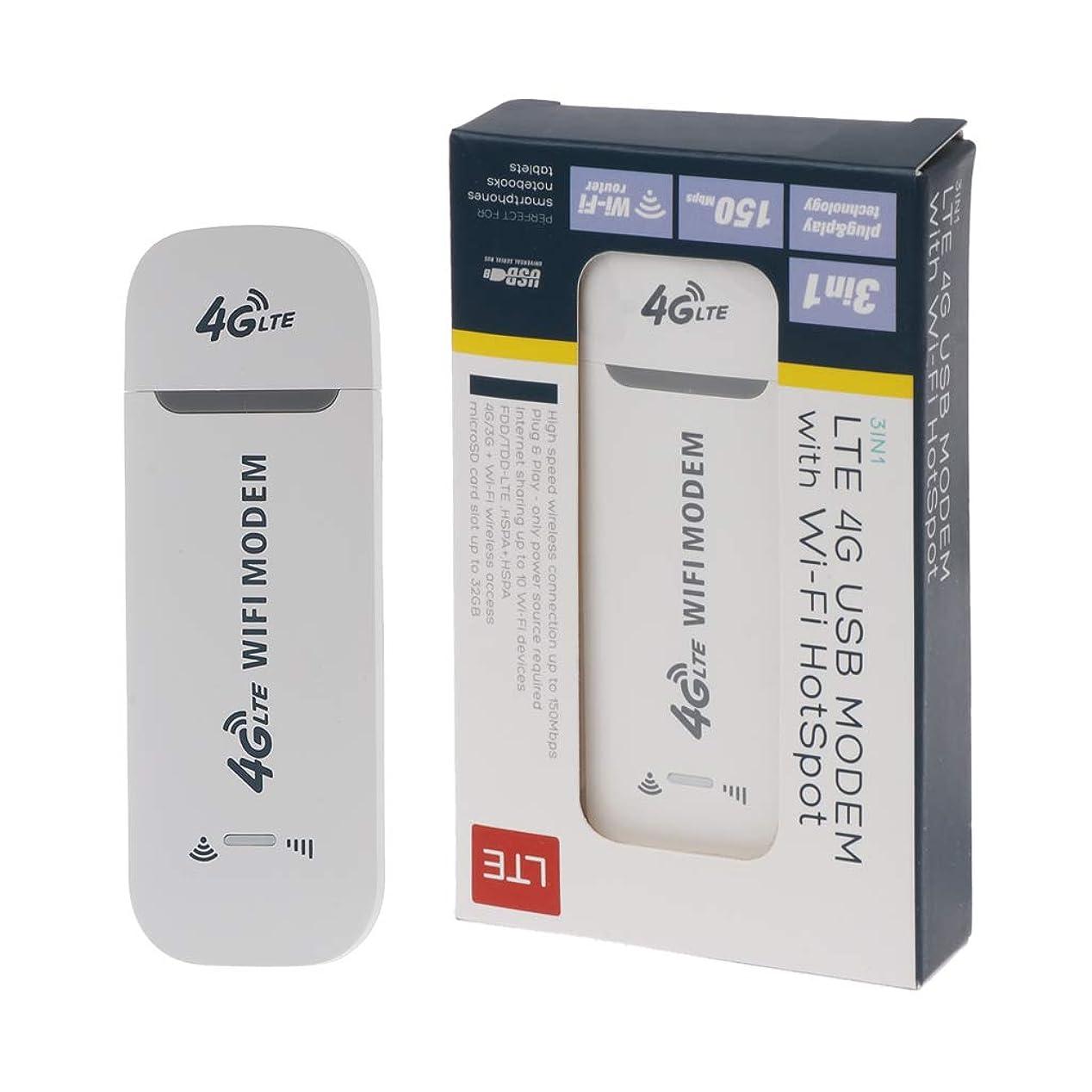 Abnana WiFiホットスポットSIMカード付き4G LTE USBモデムネットワークアダプターWin XP Vista 7/10 Mac 10.4 IOS用4Gワイヤレスルーター