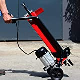 XtremepowerUS 7-Ton 15 Amp Electrical Log Splitter Wood Cutter Handle with Mobile Wheels