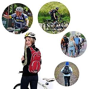 51df5MEgYUL. SS300  - EULANT Mochila para Bicicleta, 12L Mochila de Hidratación de Ciclo Impermeable