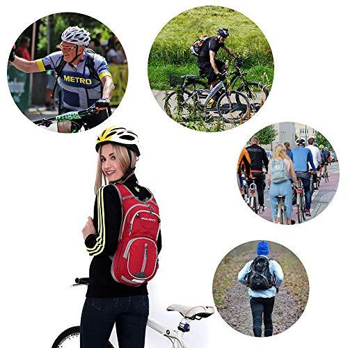51df5MEgYUL - EULANT Mochila para Bicicleta, 12L Mochila de Hidratación de Ciclo Impermeable