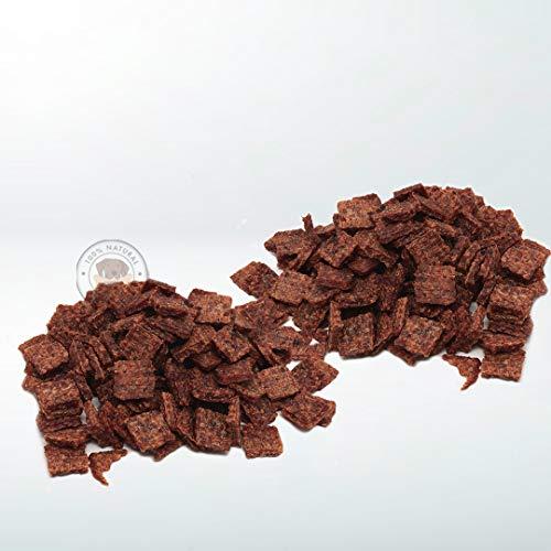 Snack Deshidratado para Perros - 2 Bolsas de 500 gr - Nugget de Pollo para Perros - 100% Carne de Pollo - Sabor Único - Encías Saludables - 100% Orgánico - Fabricado en España