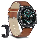 Smart Watch for Men Make and Receive Bluetooth Calls Activity Fitness Tracker Heart Rate Music Player Business Smartwatch Sleep Monitor IP68 Waterproof for Android iOS Phones Compatible iPhone Samsung