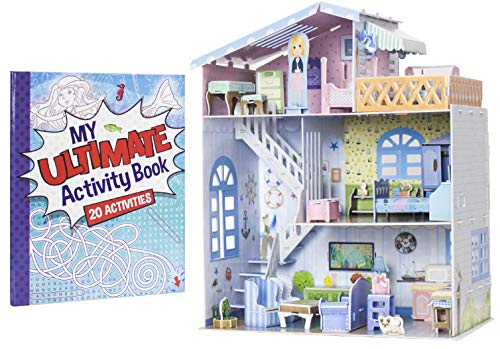 Beach Haven: My First Dollhouse 3D Puzzle and Book