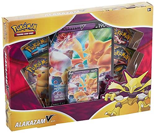 Pokemon Alakazam V Box, Multicolor