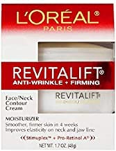 L'Oreal Revitalift Face & Neck Anti-Wrinkle & Firming Moisturizer Day Cream 1.70 oz (Pack of 3)