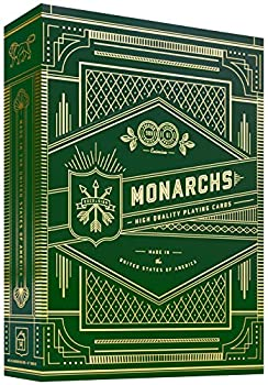 theory11 Monarch Playing Cards  Green