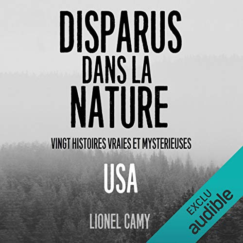 Disparus dans la nature audiobook cover art
