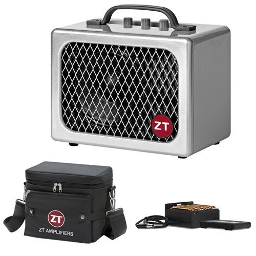 ZT Amplifiers Lunchbox Junior Combo Amplifier for Electric Guitars with ZT Amplifiers Battery Pack and ZT Amplifiers Carry Bag (Renewed)