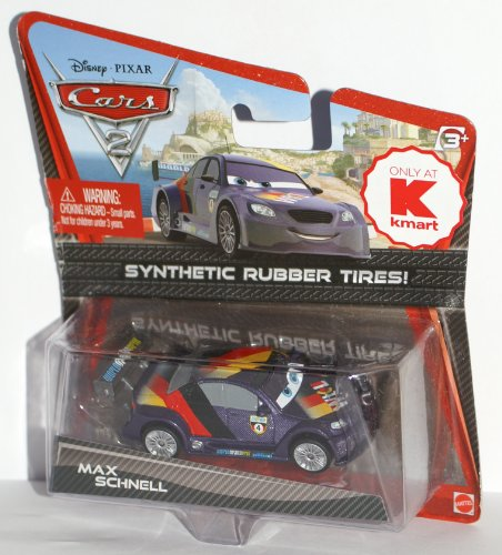 Cars 2 Exclusive Max Schnell With Rubber Tires