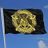 Gsixgoods Flagge Viking Warrior 3x5 Foot Flags Outdoor Flags 100% Single-Layer Translucent Polyester 3x5 Ft