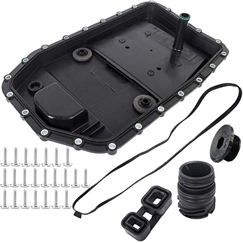 KARPAL 6HP19 Transmission Oil Filter Pan Repair Kit w/Gasket 24117571217Compatible With BMW E90 X5 Z4