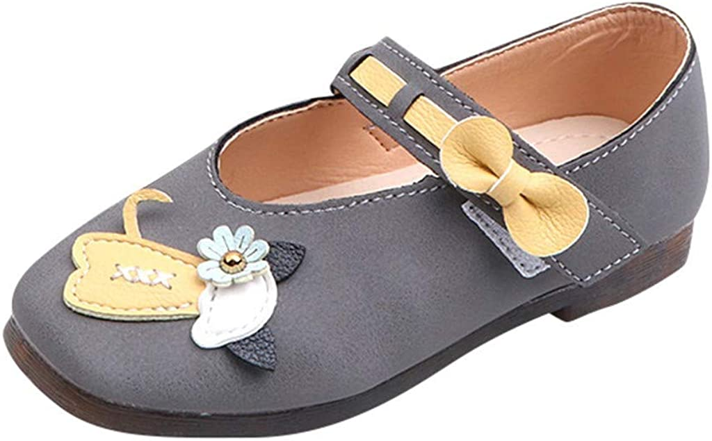 Baby Girls Princess Shoes Casual Sandals Soft-Soled Baby Shoe Leather Dance Shoes