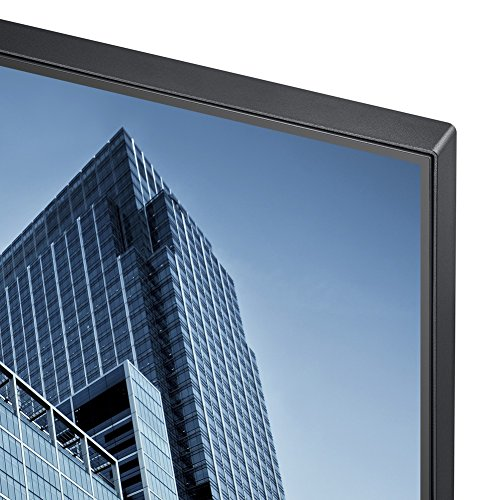 Samsung S27H850QFU 68,4 cm (26,9 Zoll) Monitor (HDMI, VGA, DVI, 4ms Reaktionszeit), schwarz