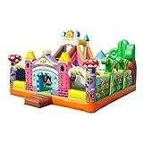 HEMFV 42 Quadratmeter Große Hüpfburg for Kinder Geschenk Spielzeug