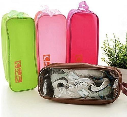 Dustproof Waterproof Designer Sports Gym Shoes Socks Travelling Storage Bag Pouch Organizer for Single Pair