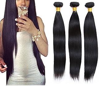 Goood Hair Unprocessed Super Brazilian Virgin Hair Straight 4 Pcs/lot Goood Hair Products Virgin Brazilian Hair Weave Bundles 50g/ps 4pcs/ Lot Total 200g (20 22 24 24)