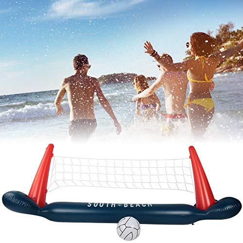 Huakii 𝐖𝐞𝐢𝐡𝐧𝐚𝐜𝐡𝐭𝐬𝐠𝐞𝐬𝐜𝐡𝐞𝐧𝐤 Umweltfreundliches leichtes tragbares Wasserpool-Volleyballnetz, PVC-Volleyballnetz, für Schwimmbad im Freien Spaß für Erwachsene Kinder Wasser