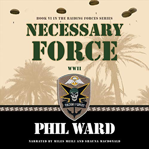 Necessary Force audiobook cover art
