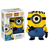 Despicable Me Figurina 2 Minion Carl Pop! Movies Vinyl