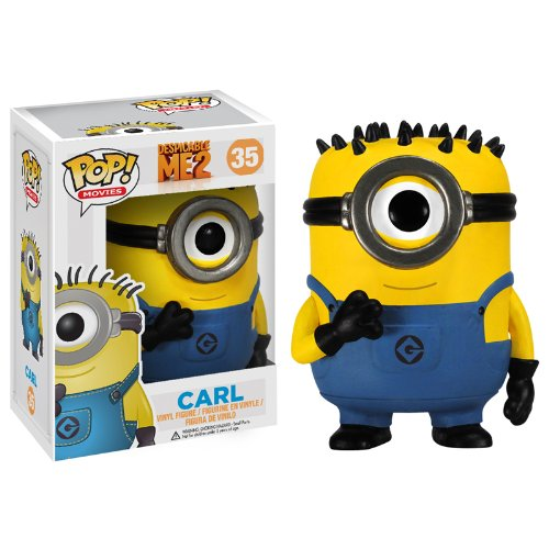 Minions: Carl Minion Figur POP - Despicable Me 2 (10 cm)