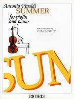 ヴィヴァルディ : 四季より Op.8/2「夏」/リコルディ社/ピアノ伴奏付バイオリン・ソロ楽譜
