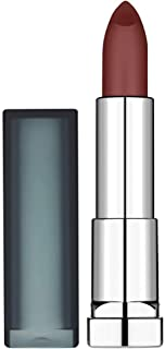Maybelline New York, Pintalabios, Color Sensational, Creamy Matte, Tono 975 - Divine Wine