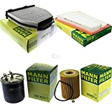 MANN-FILTER - Kit de inspección para filtros interiores, filtro de combustible, filtro de aire, filtro de aceite
