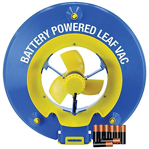 POOL BLASTER Water Tech Leaf Vac, Cordless Battery Powered Swimming Pool Leaf Skimmer, Leaf Vacuum...