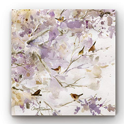 Canvas Wall Art, Wall Décor Canvas, Modern, Contemporary, Rustic, Romantic, & Industrial, Ready to Hang - Lavender Spring I 16X16