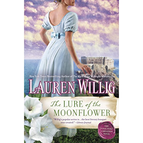The Lure of the Moonflower audiobook cover art