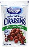 Image of Cranberries, dried, 50% less sugar