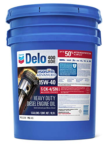 Delo 222290428 400 SDE SAE 15W-40 Motor Oil - 5...