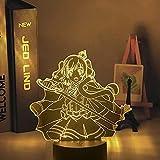 3D Illusion Lamp -Nave espacial star wars,3D LED Luz Nocturna para Niños, 7 Colores Cambian con Control Remoto, Regalos para Niños Niñas