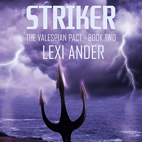 Striker audiobook cover art