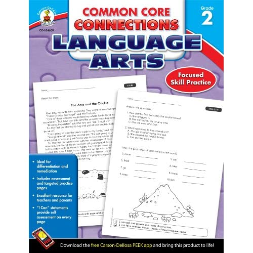 Common Core Connections Language Arts Grade 2