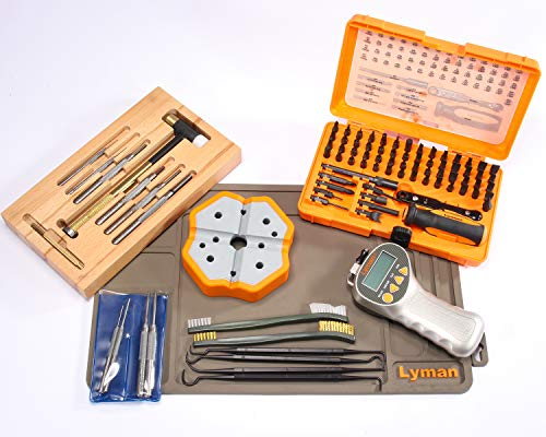 Lyman Master Gunsmith All-in -One Professional Tool Set, Brown, Model:7991373