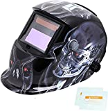 Welding Helmet, TEKWARE Solar Power Auto Darkening Welding Hood Welder Mask Breathable Grinding Helmets with Adjustable Shade Range 4/9-13