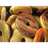 Donut Mediano de Jaspe Sardo para Colgante Minerales y Cristales,...