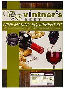 Vinter's Best Wine Equipment Kit with double Lever Corker