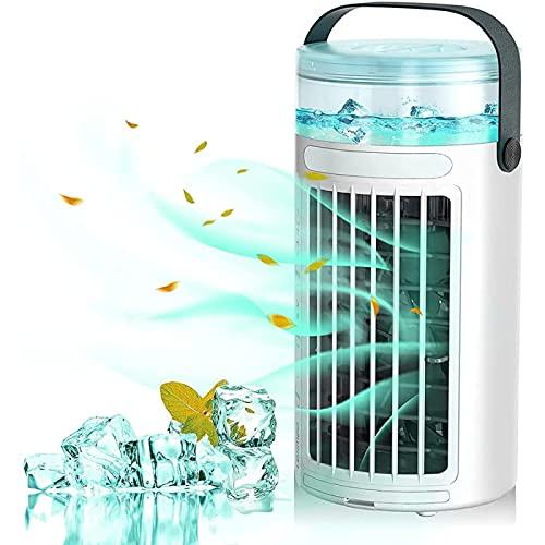 YANRU Climatizador Evaporativo Portatil, Humidifica Airconditioner Portable, ProteccióN del Medio Ambiente Ventilador Climatizador - para El Hogar Y La Oficina