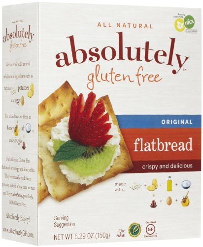 Absolutely Gluten Free Original Flatbreads - 5.29 oz(pack of 2)