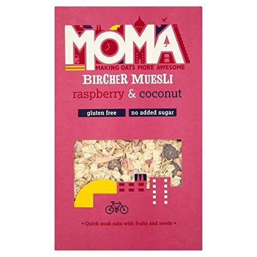 Moma Gluten Free Raspberry Coconut Max 71% OFF Austin Mall Muesli 400g Bircher 0.88 -