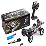 Baoer RC Car, Wltoys 124019 RTR 1/12 2.4G 4WD 60km/h Metal Chassis RC Car Off-Road Climbing Truck Vehicles Models Kids Toys as Shown