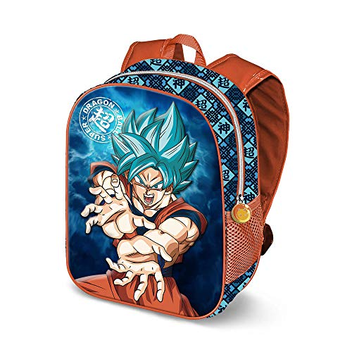 KARACTERMANIA Dragon Ball Kame-3D Backpack (Small) Kinder-Rucksack, 31 cm, 8.5 liters, Mehrfarbig (Multicolour)